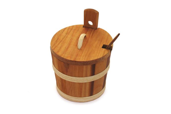 Skopek drewniany olejowany kpl