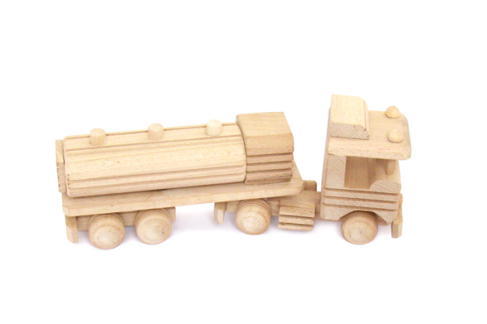 Ciezarowka zabawka drewniana