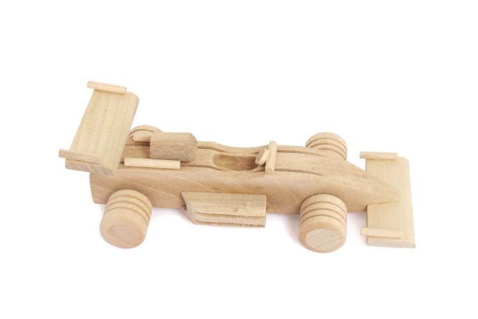 Formula jeden zabawka drewniana