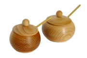 Cukiernice z drewna bukowego
