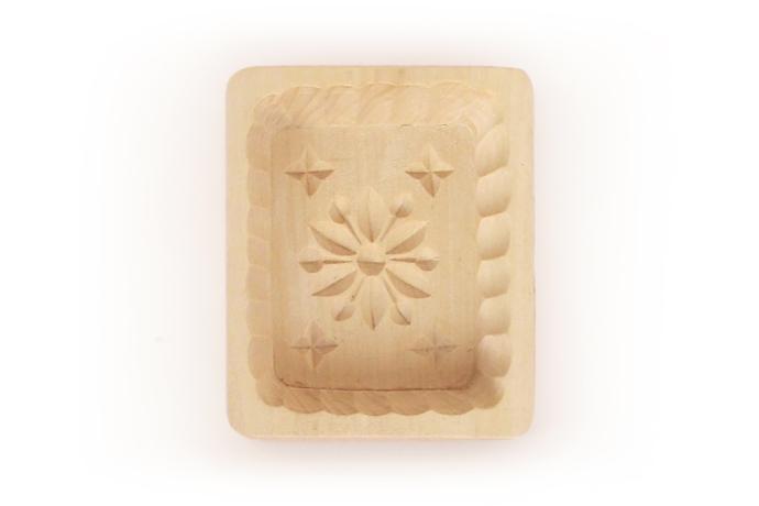 Forma na szarotke z masla dwa