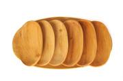 Tace drewniane z czeresni owalne kpl dwa