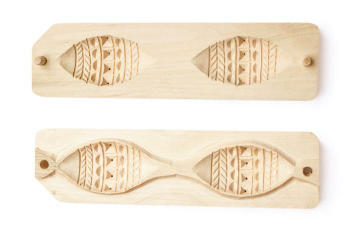 Podwojna forma na oscypka trzy